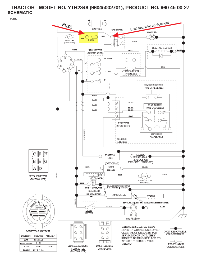 CDLS2RY where is the fuse located at in a husqvarna riding mower model husqvarna yth21k46 wiring diagram at crackthecode.co