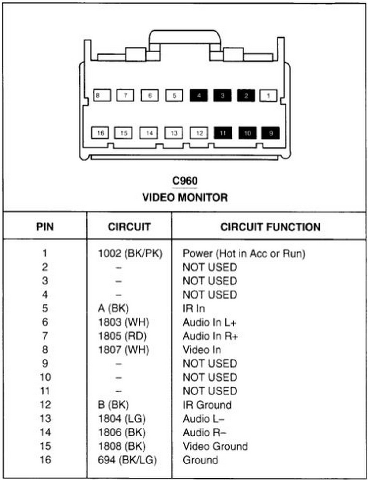 2003 ford expedition eddie bauer radio wiring diagram