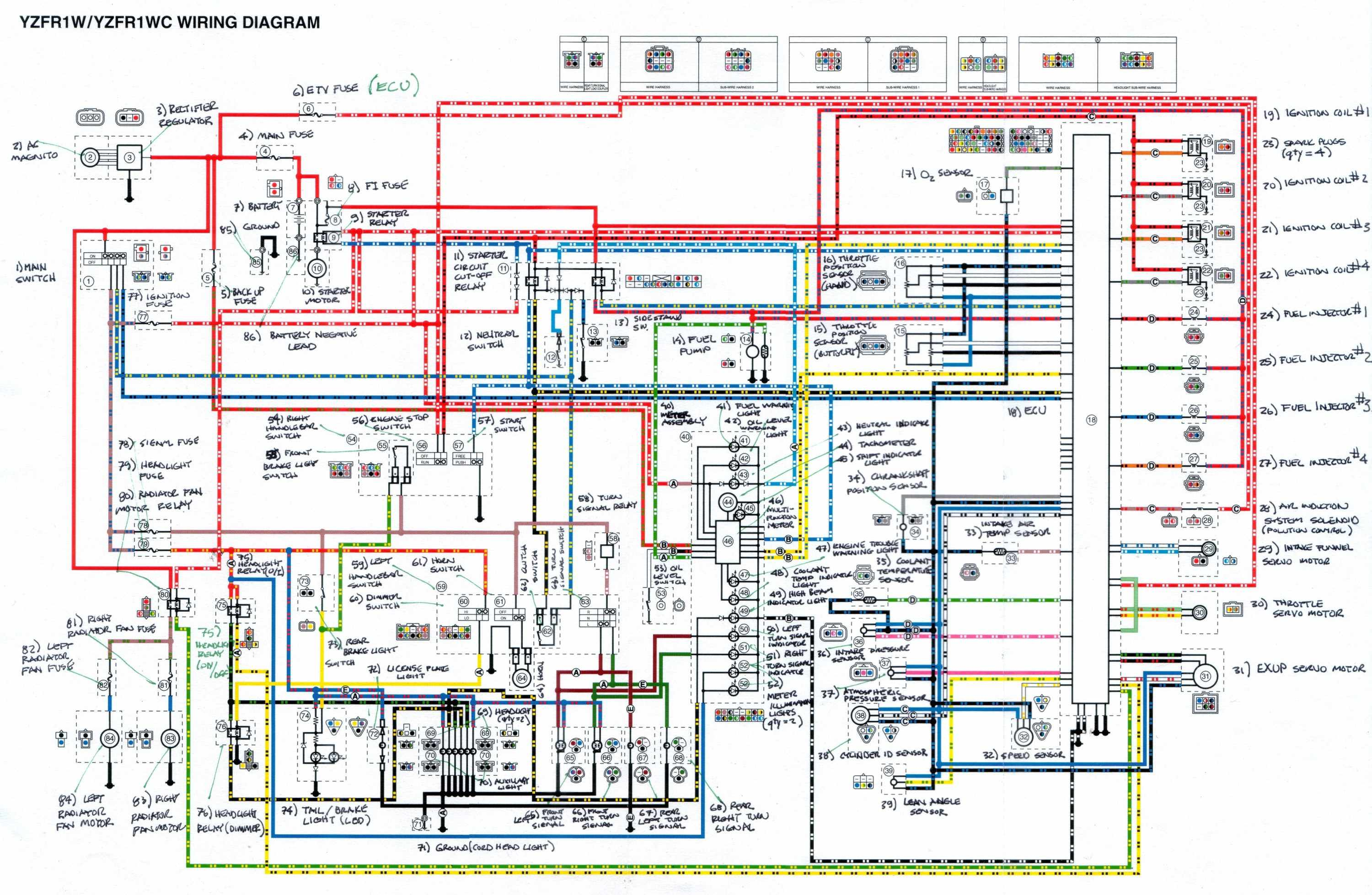 Dwarf Car Fuel System Diagram Wiring Data Cooling Diagrams For Cars I Have A 2008 Yamaha R1 Motorcycle Engine With Components And Rh Justanswer Com C Basic