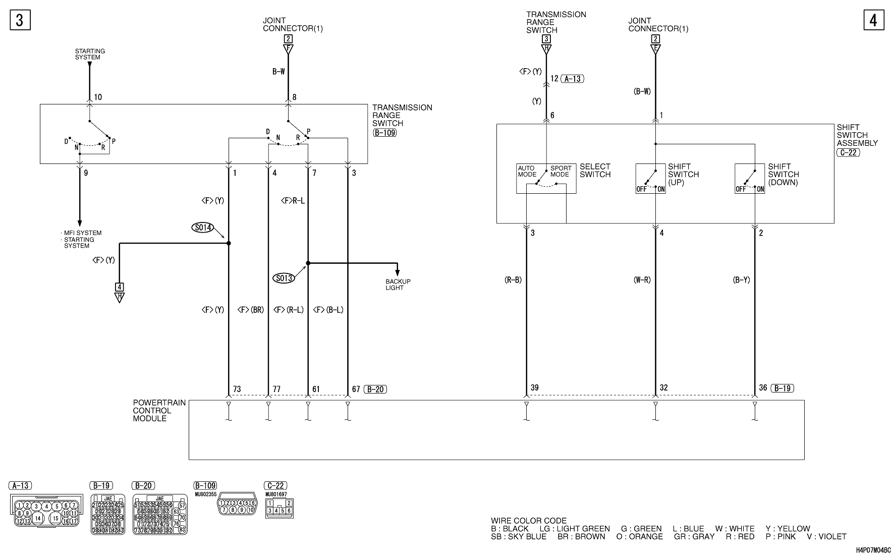 Looking For A Wiring Diagram For The Neutral Safety Switch  And Possibly Also The Ignition