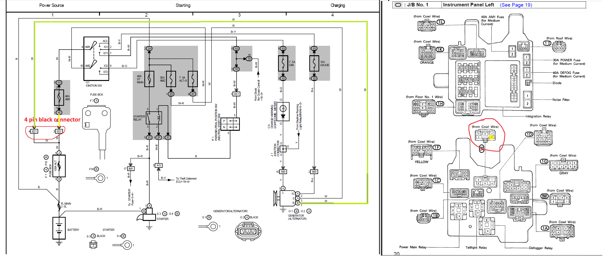 1993 lexus gs300 relay diagram