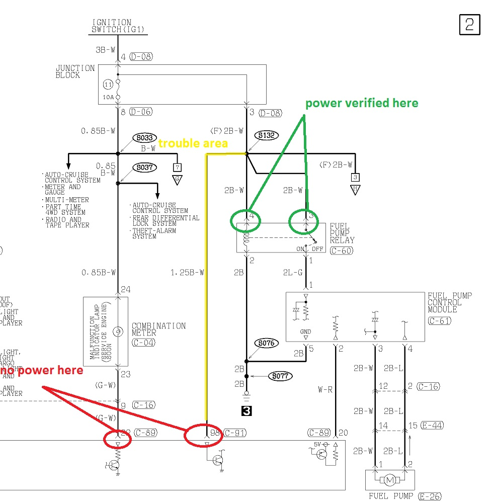 trailer light wiring color code
