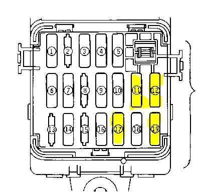 I have a 1994 3000gt VR4 that will not start. There is not ... A Diagram Of Mitsubishi Gt Fuse Box In The Relay on