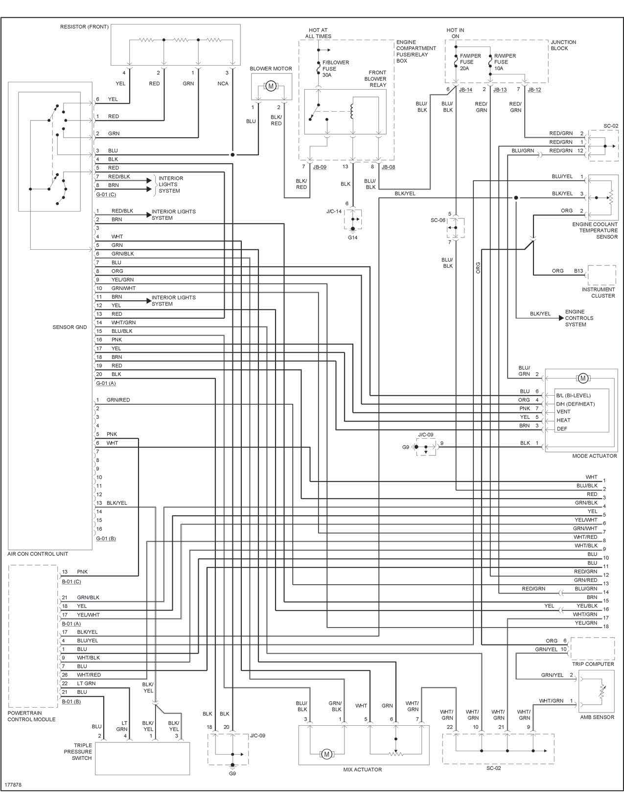 Kia Sorento 2 5 Crdi Wiring Diagram : Sedona ac clutch not engaging the system has a