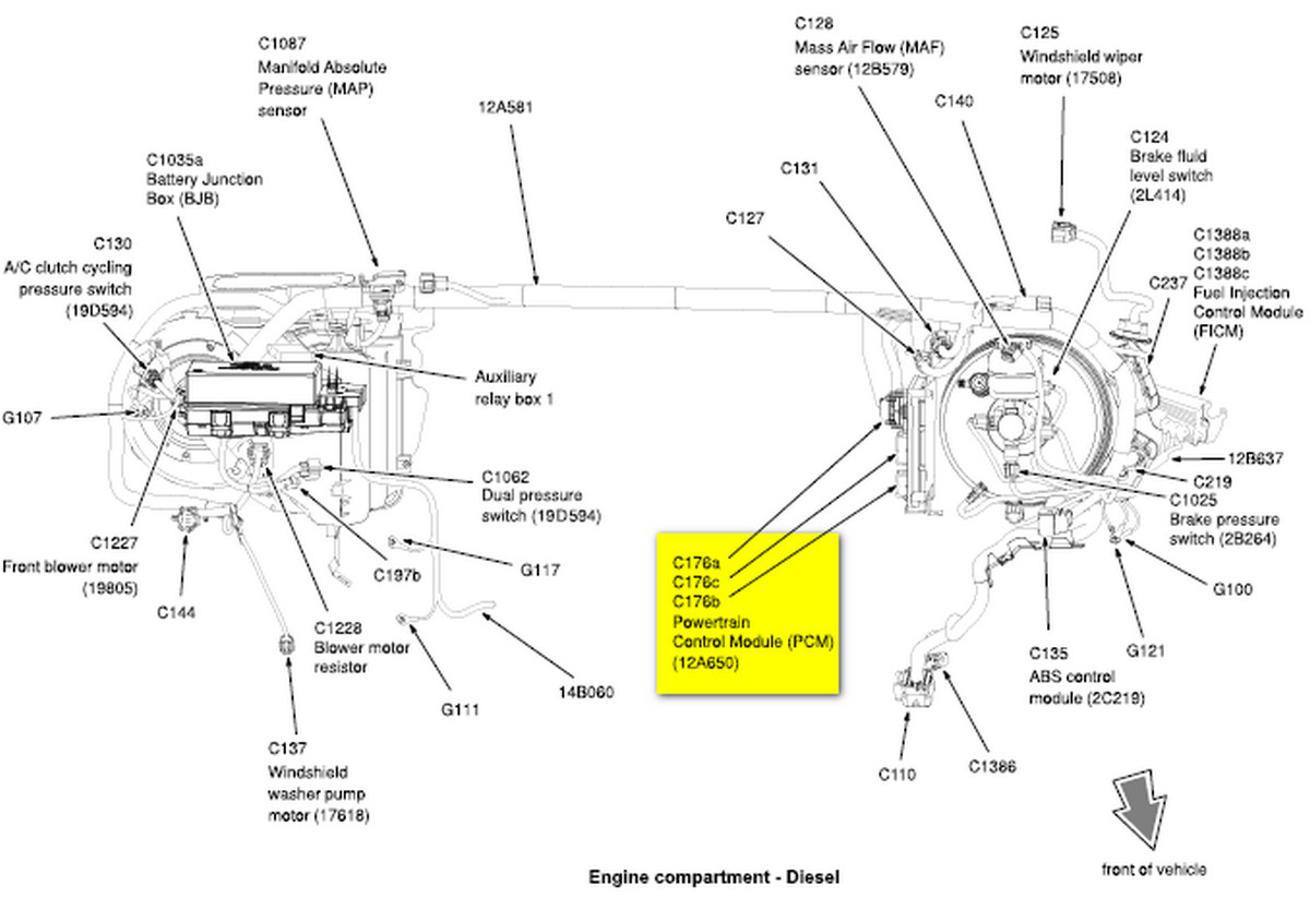 i have a e-450 vin 4hb15806 with a 6.0 liter.did some ... ford e 450 wiring diagrams pcm ford e 450 wiring diagram