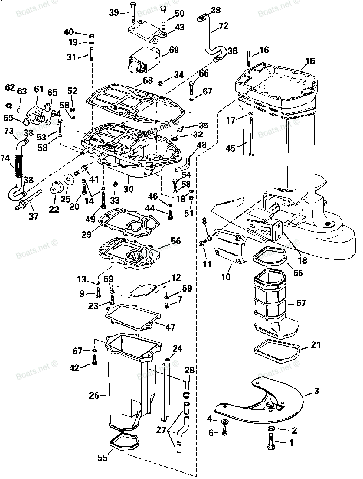 Mercury Outboard Motor Parts Diagram besides Fixforcewiring in addition 7tzj4 Water Leaking Lower Unit Bolts besides Mercury 50 Hp Wiring Diagram further 55 Hp Johnson Outboard Diagram. on 1989 90 hp evinrude