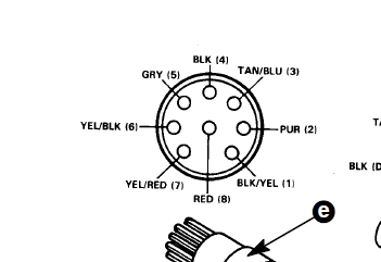 8 Pin Wire Harness For Mercury | Wiring Diagram
