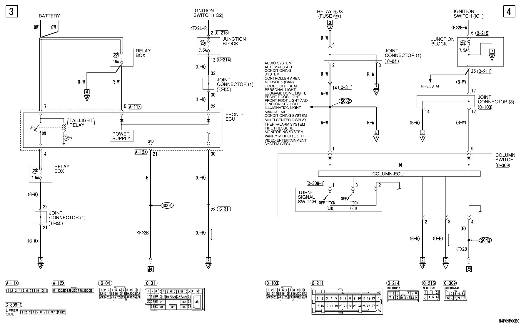 i need wiring diagram for mitsubishi endeavor 2004 Mitsubishi Headlight Diagram  Mitsubishi Fd-45 Wiring Diagrams