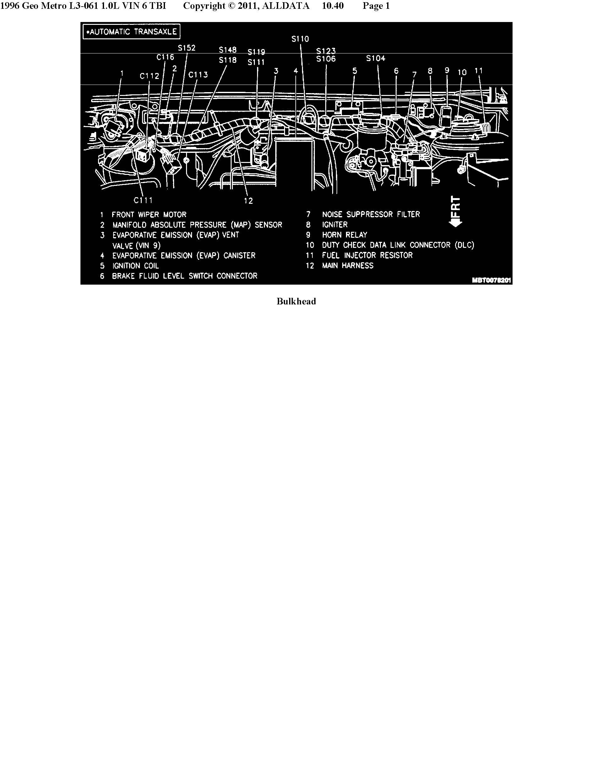 95 Prizm Fuse Box Diagram Manual Of Wiring 1992 Geo Storm For Metro Honda Civic Interior