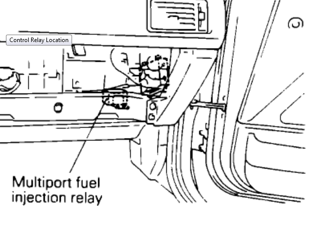 service manual  how to check fuel relay on a 2006 land
