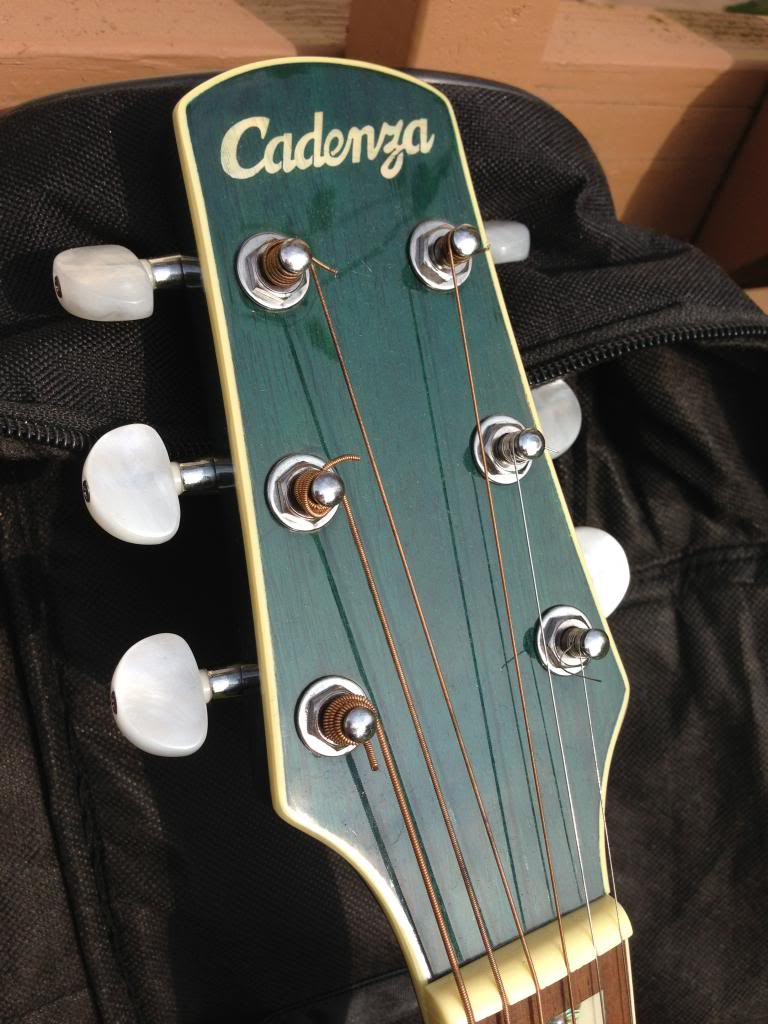 looking to sell a cadenza model sc700bl acoustic electric guitar purchased in 2001 it is a. Black Bedroom Furniture Sets. Home Design Ideas