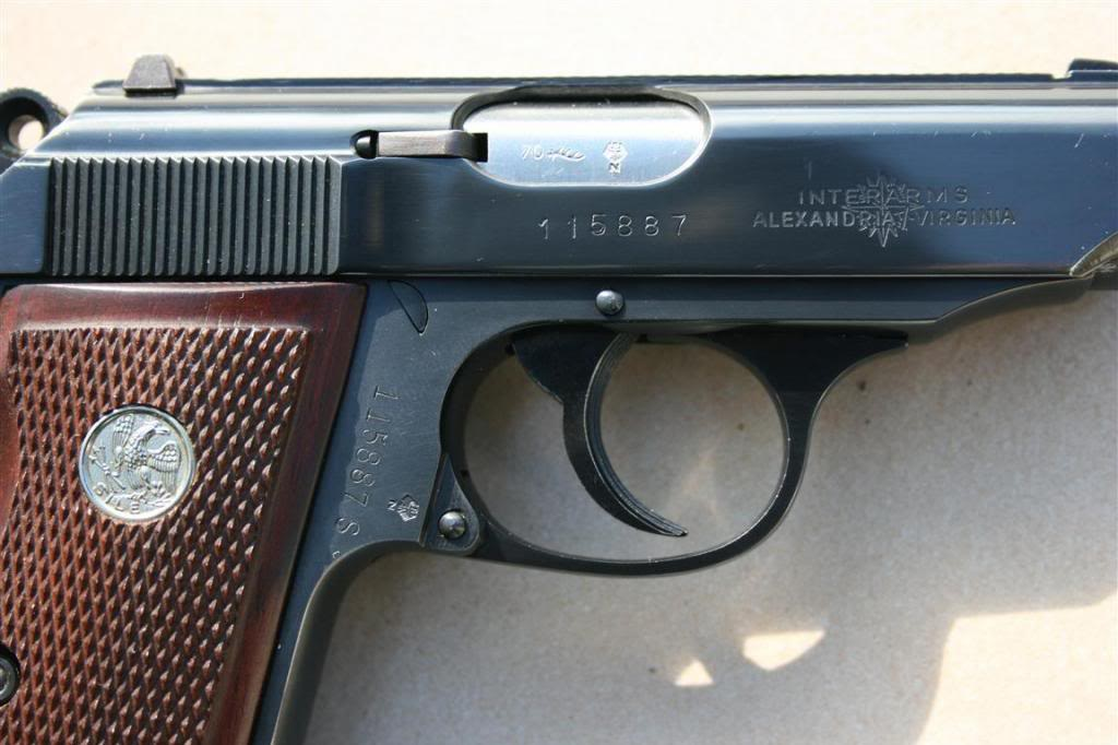 I have a Walther PPK/S 9mm made in West Germany the barrel
