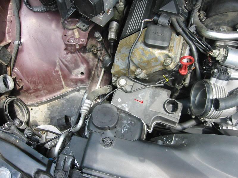 2001 bmw x5 camshaft sensor location