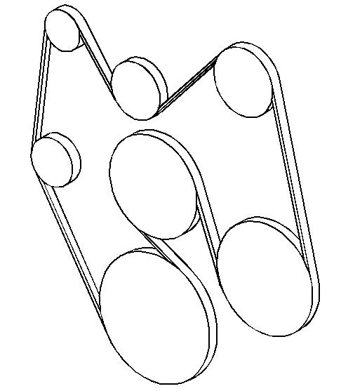 Duramax Belt Routing Diagram