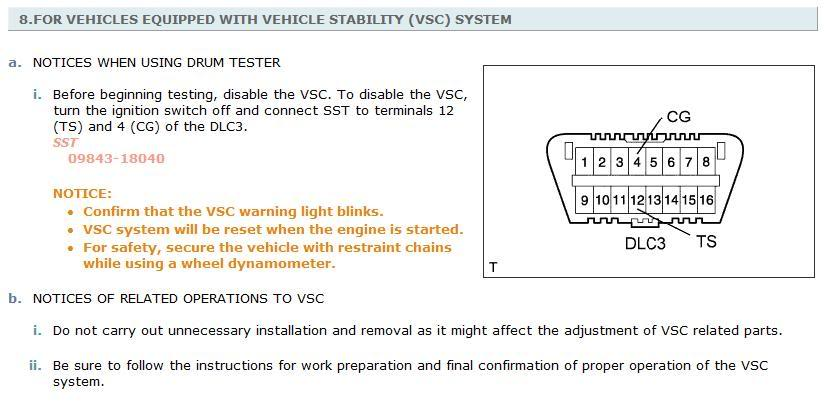 vscecb warning light came on 2006 gs430 think I touched
