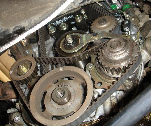 Timing Belt Change Honda Accord: I Have A 1990 Honda Accord Replacement Engine 9F22A) Out