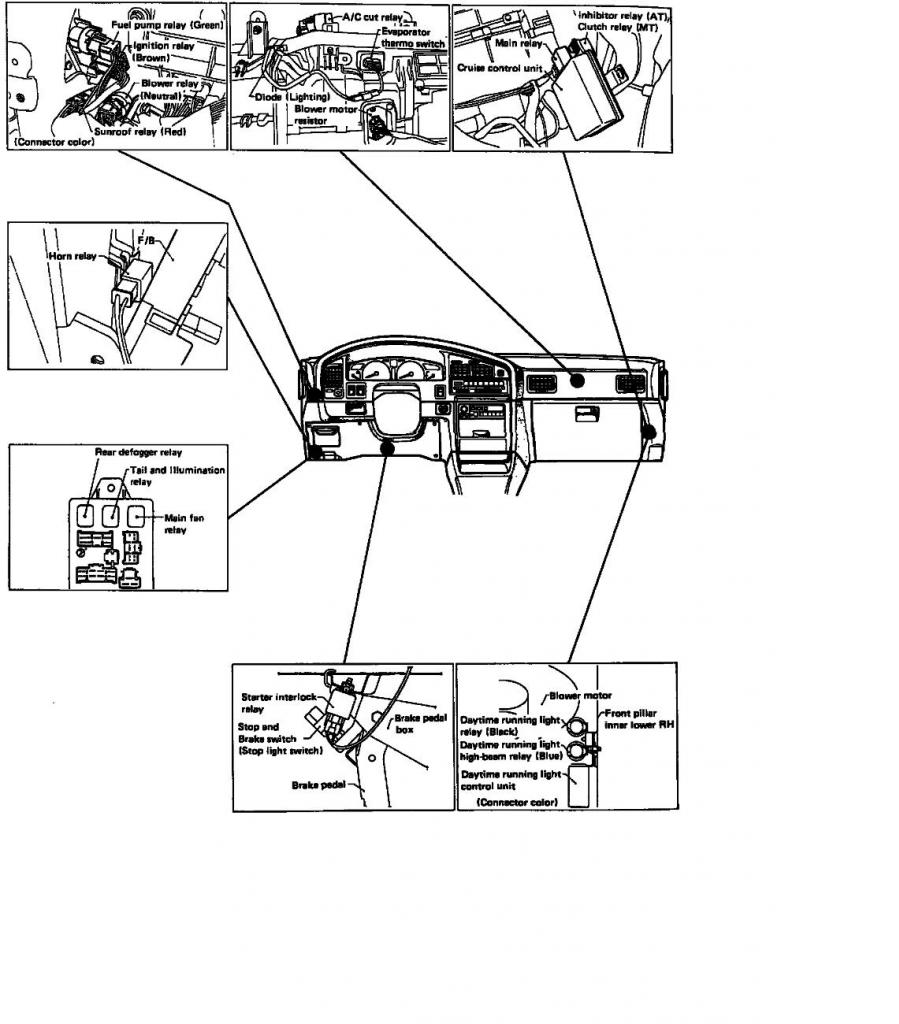1994 subaru legacy fuse diagram