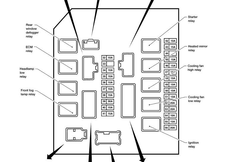 Xterraipdmfuses on Infiniti Qx56 Fuse Box Diagram
