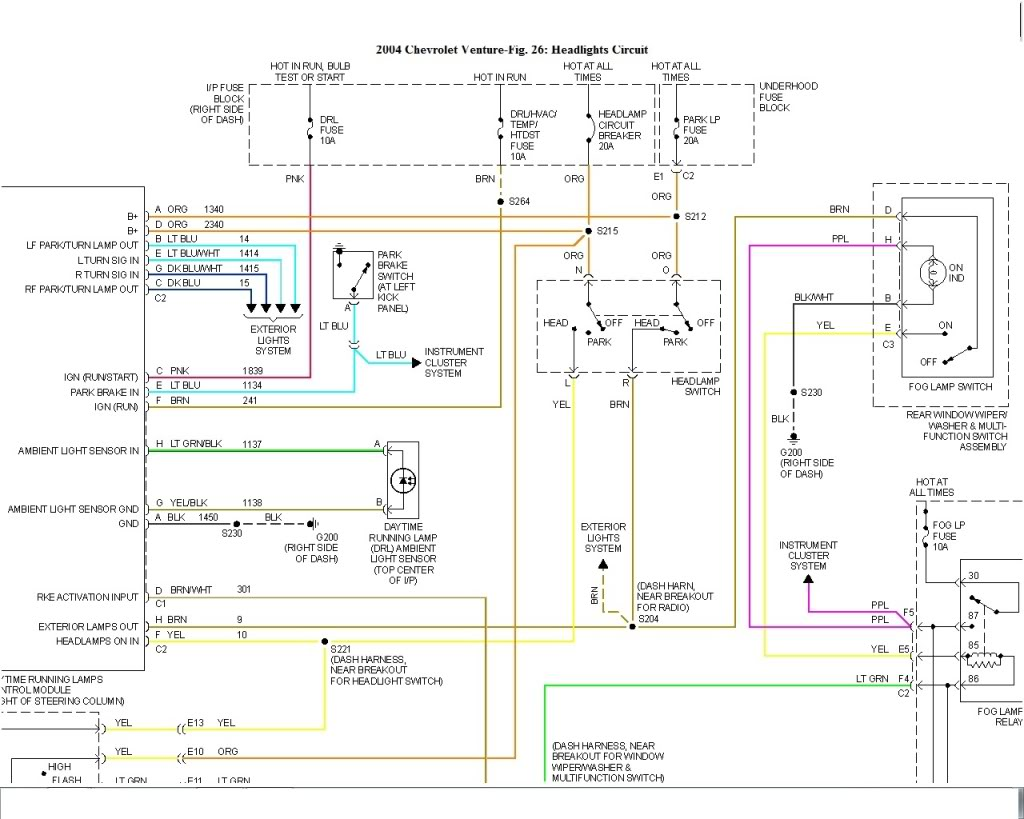 hwd1 2004 chevy venture wiring diagram 2003 chevy venture wiring 2004 chevy express 1500 radio wiring diagram at mr168.co