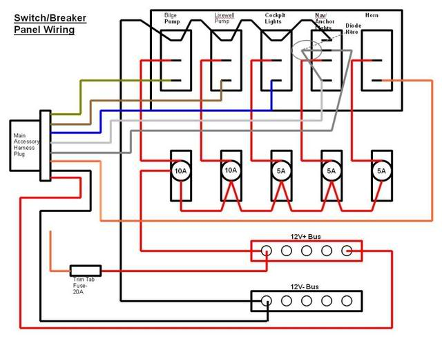 Gang Switch Panel Wiring Diagram on 4 float switch wiring diagram, basic boat wiring diagram, 5-way light switch diagram, 4 gang switch box, cooker unit wiring diagram, 2 gang switch wiring diagram, 4 light wiring diagram, two gang electrical box wiring diagram,