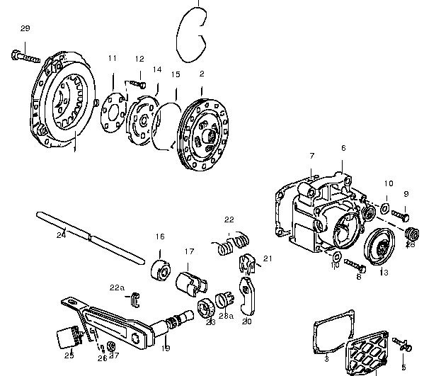 1996 jetta gl 4 cyl 2 0l clutch pedal stuck to the floor rh justanswer com vw t4 clutch diagram vw bug clutch diagram