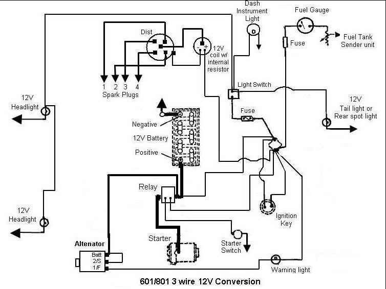 Wire on 6 volt ford generator wiring diagram