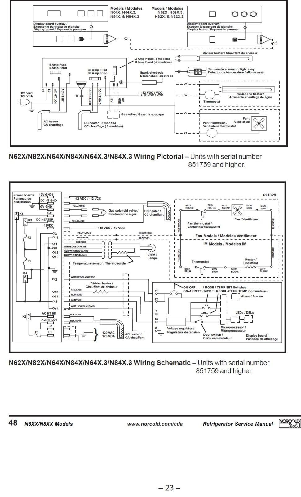 2i0r6s7 replaced norcold circuit board 628661, forgot where the wires go norcold power board wiring diagram at fashall.co
