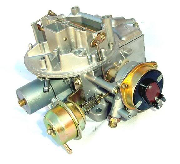 I have ,Ithink a motorcraft 2150 carb  on a rebuilt 302,the