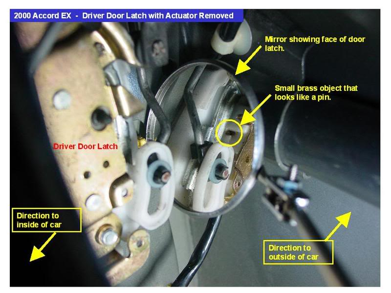 Honda Door Latch How Do I Replace The Driver Side Door Latch Mechanism On A 1990 Honda Civic 2dr Hatchback Sc 1 St Justanswer