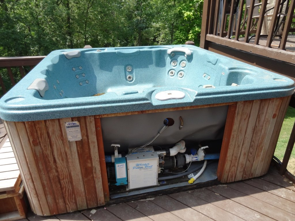 I have a 2000 cal spa hot tub i bought used i had it for Jacuzzi spa exterieur