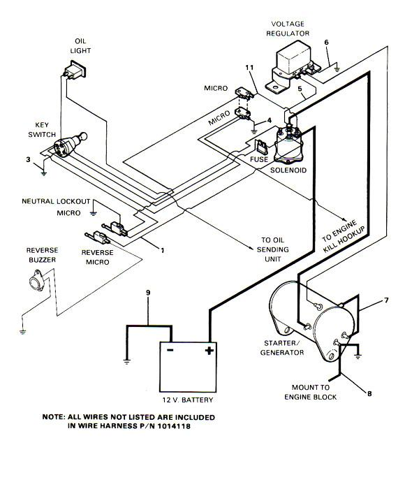 2007 ez go wiring diagram