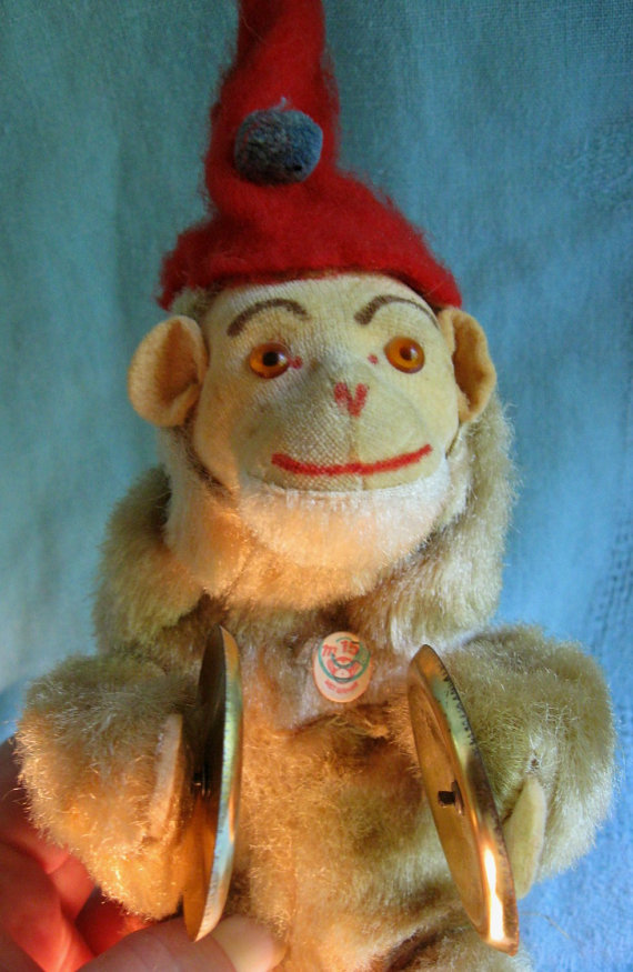 I Have An Antique Toy It Is A Monkey Holding Cymbals And Whe He Is