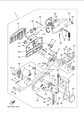 part_diagram Yamaha Remote Control Box Wiring Diagram on