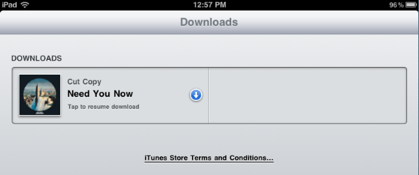 After downloading a movie from iTunes, we occasionally have trouble ...