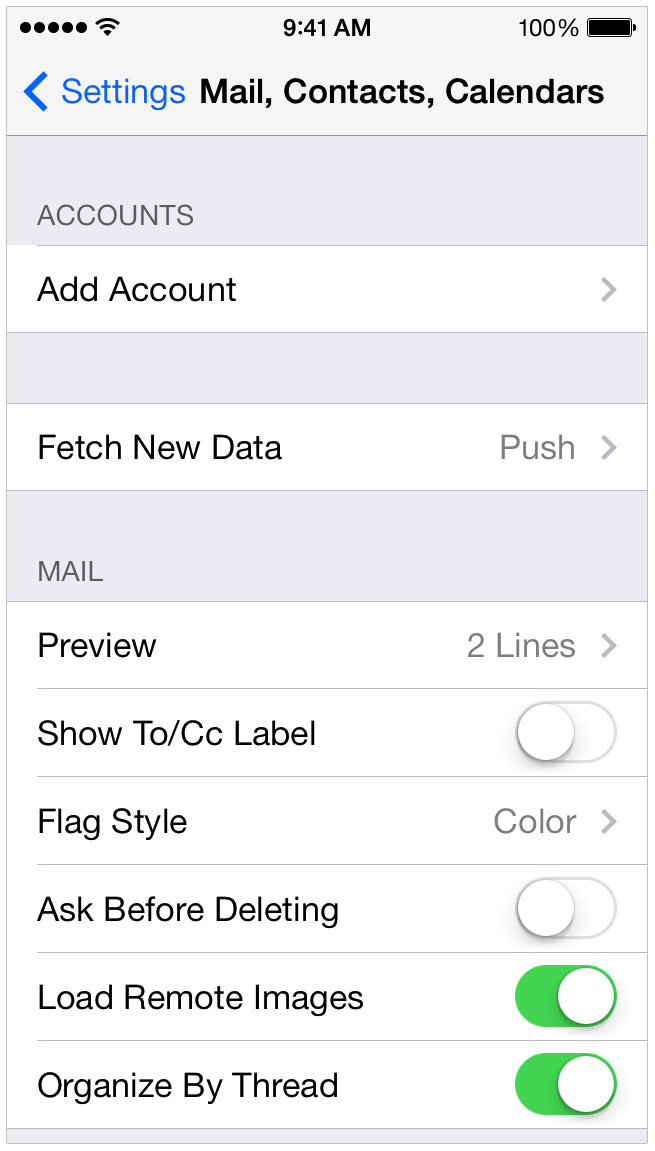 iphone remove email account i can t receive any emails on my iphone 6 15373