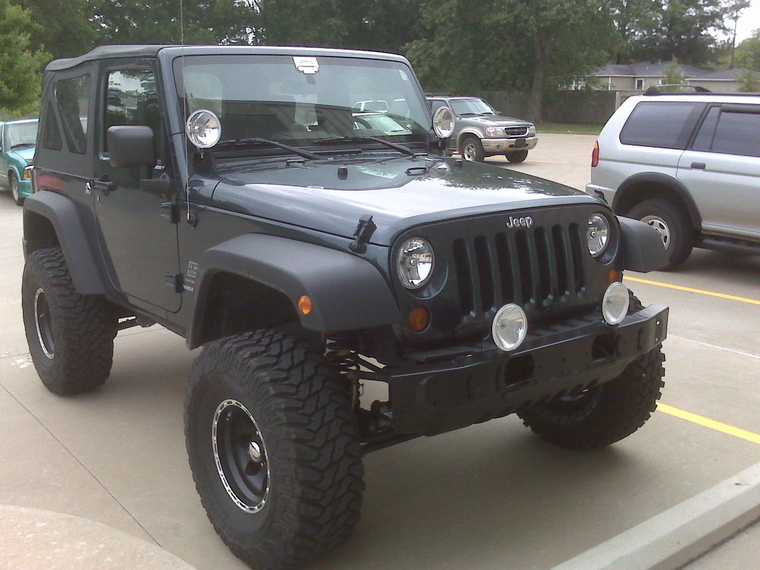2010 Jeep Wrangler Bumper Two Bolts Plate The Two Tow Hooks