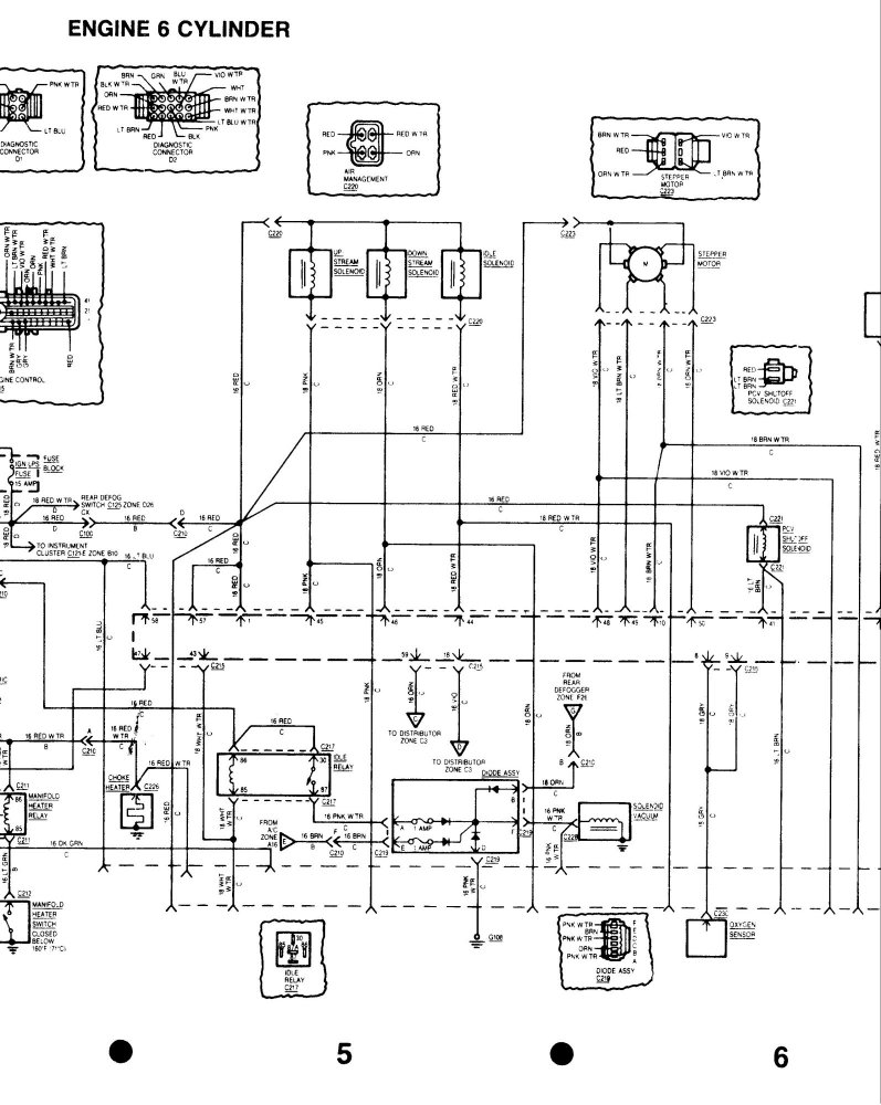 Diagram I Have A 1984 4 0 Inline 6 And I Need A Wiring Diagram For