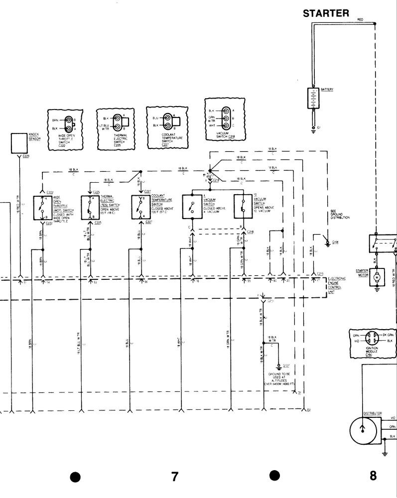 I Have A 1984 4 0 Inline 6 And I Need A Wiring Diagram For