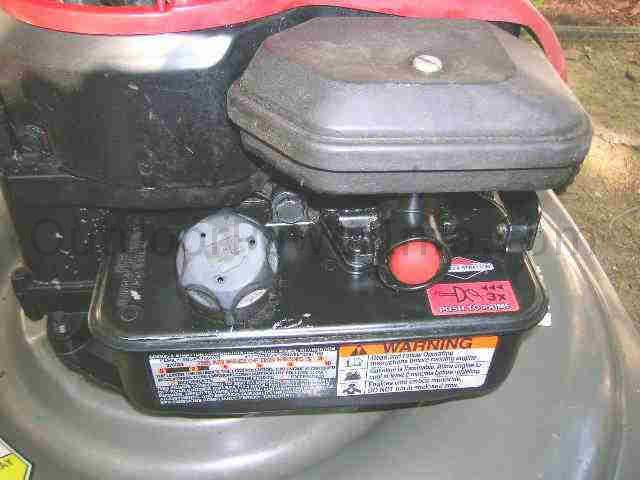 My Briggs Stratton 500 series 158cc push mower started once, died