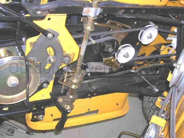 i have a cub cadet sltx 1054 there is no response when the forward pedal is pressed i found an cub cadet 1554 parts manual cub cadet super lt 1554 parts manual