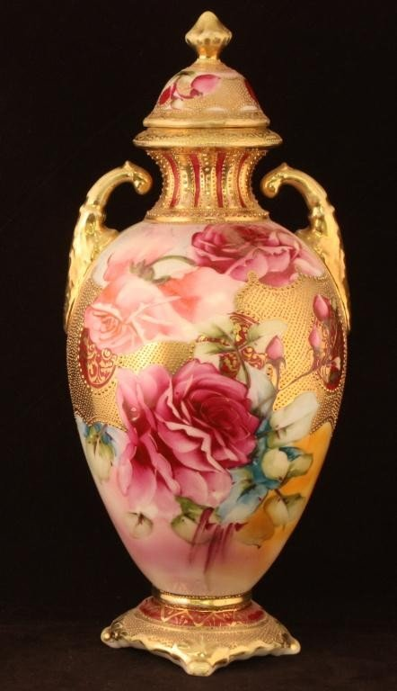 What Makes Some Nippon Vases Worth 1100 And Others Only Worth 200