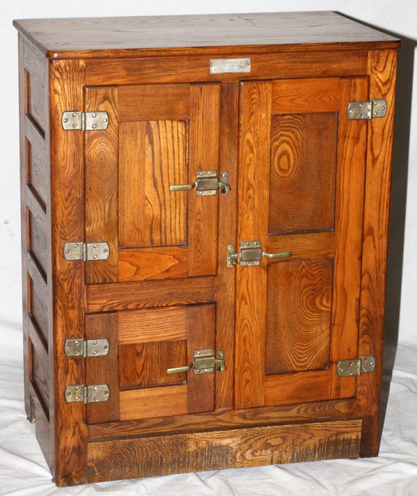 I Have A 48in Tall Belding Oak Ice Box. It Is A Seamless