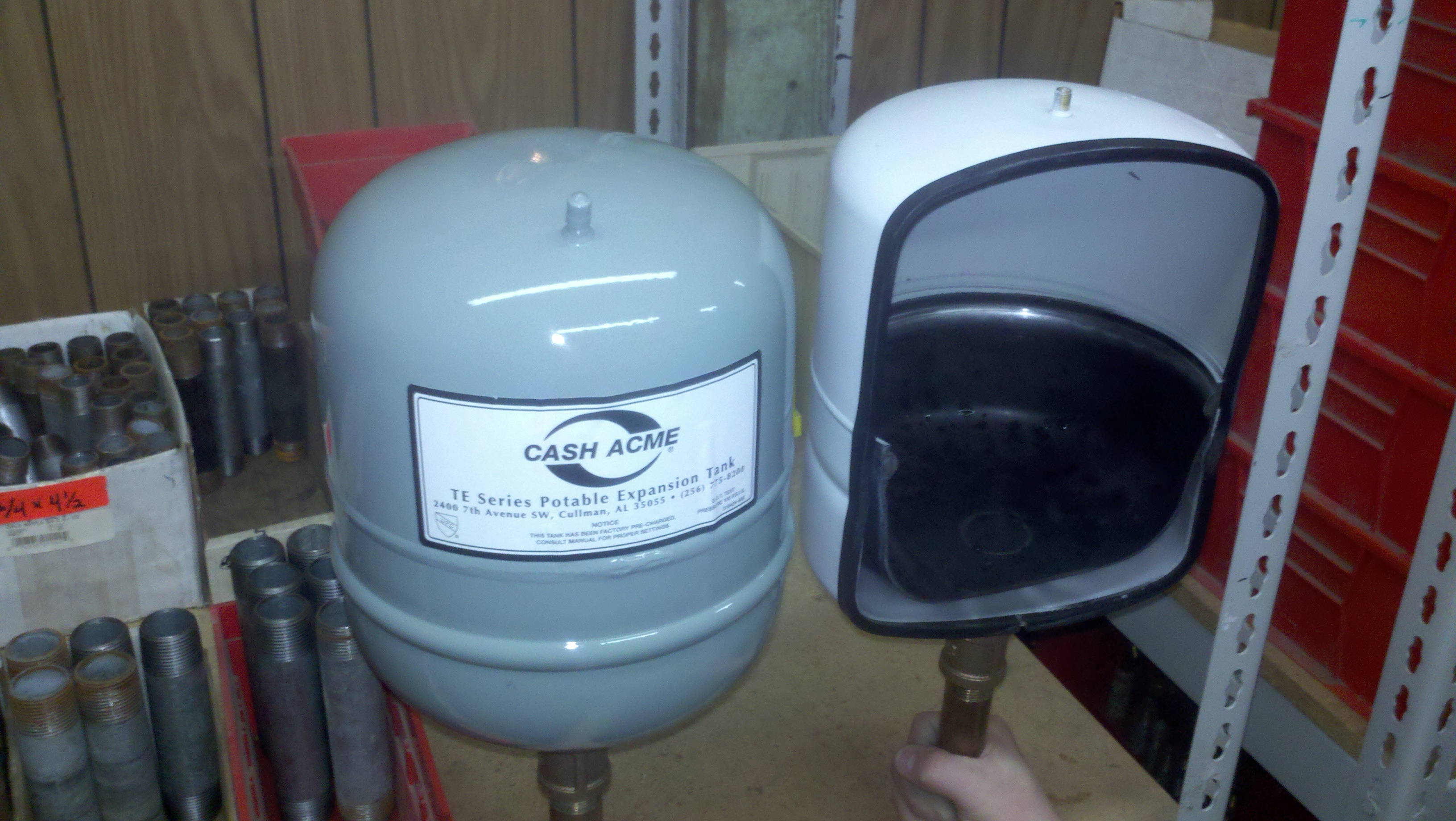 I have an 80 gallon A.O. electric water heater manufactured in 1992 ...
