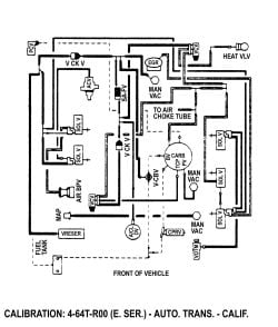 What is the vacuum schematic for 1977 ford pick up  302
