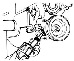 i jumped a gear on the oil pump distributor spindle when replacing 1994 Nissan Xe click image to see an enlarged view