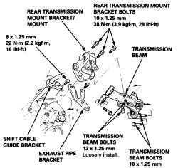 Is There Such A Thing As Stepbystep Instructions On How To Change - 2001 acura cl transmission