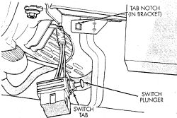 Brake Light Switch Typical Click Image To See An Enlarged View