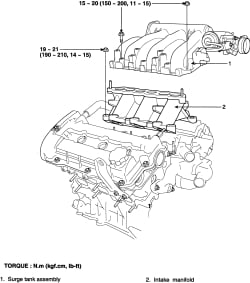 How Do You Raise The Back End Of The Intake Manifold To Reach The Three Rear Spark Plugs On A Kia V6 2005 Sportage