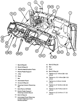 need to replace heater core on 99 grand marquis need instructions 2003 Grand Marquis click image to see an enlarged view