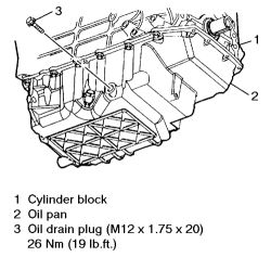 Can i get the procedure for changing the oil pan on a 1994 grand am click image to see an enlarged view publicscrutiny Image collections